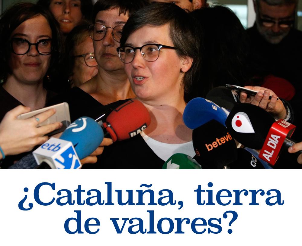 Cataluña tierra de valores