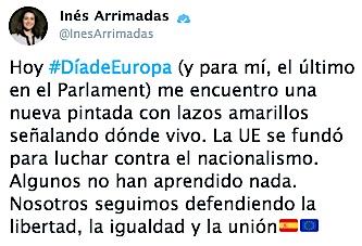 Tweet Ines Arrimadas