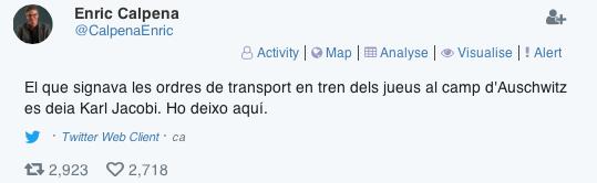 Twitter Enric Calpena